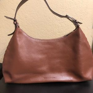 BCBG women's brown shoulder bag